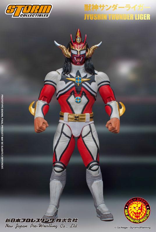 【再販】新日本プロレス『獣神サンダー・ライガー』 アクションフィギュア-009
