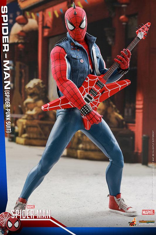 ビデオゲーム マスターピース『スパイダーマン スパイダーパンクスーツ』可動フィギュア-001