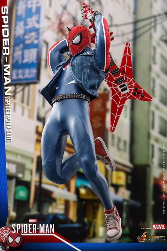ビデオゲーム マスターピース『スパイダーマン スパイダーパンクスーツ』可動フィギュア-003