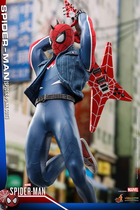 ビデオゲーム マスターピース『スパイダーマン スパイダーパンクスーツ』可動フィギュア-004