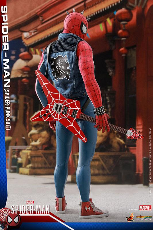 ビデオゲーム マスターピース『スパイダーマン スパイダーパンクスーツ』可動フィギュア-010