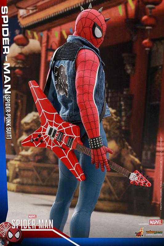 ビデオゲーム マスターピース『スパイダーマン スパイダーパンクスーツ』可動フィギュア-011