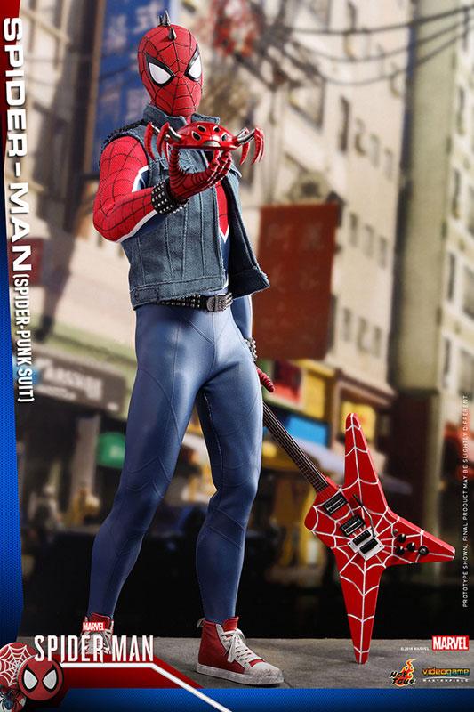 ビデオゲーム マスターピース『スパイダーマン スパイダーパンクスーツ』可動フィギュア-012