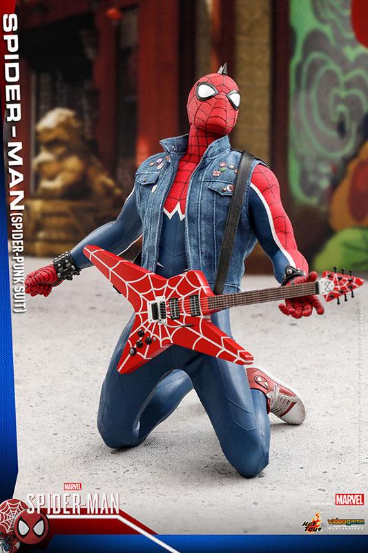 ビデオゲーム マスターピース『スパイダーマン スパイダーパンクスーツ』可動フィギュア-013
