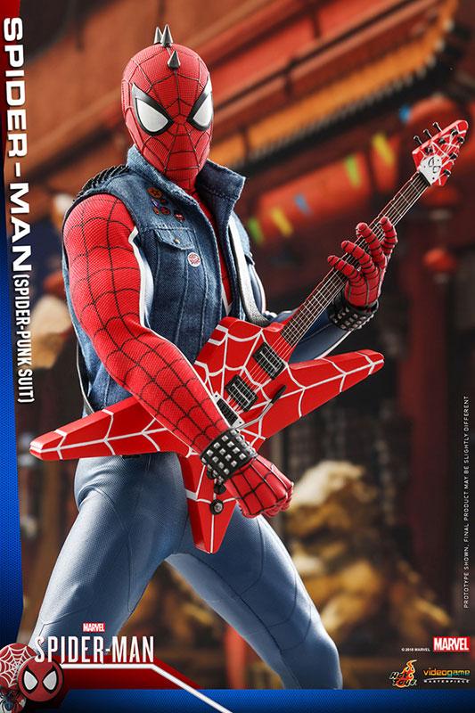 ビデオゲーム マスターピース『スパイダーマン スパイダーパンクスーツ』可動フィギュア-014