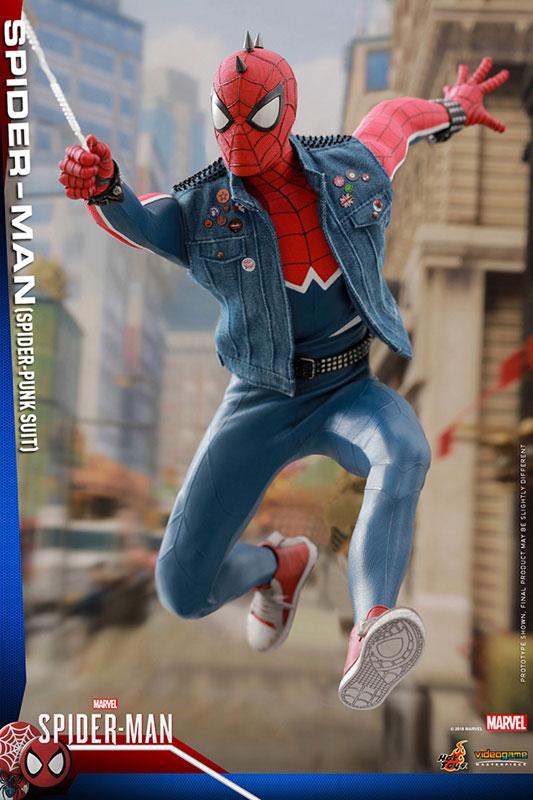 ビデオゲーム マスターピース『スパイダーマン スパイダーパンクスーツ』可動フィギュア-016