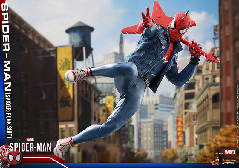 ビデオゲーム マスターピース『スパイダーマン スパイダーパンクスーツ』可動フィギュア-017