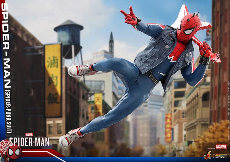 ビデオゲーム マスターピース『スパイダーマン スパイダーパンクスーツ』可動フィギュア-018
