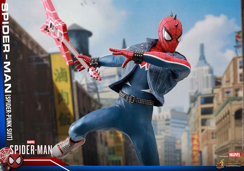 ビデオゲーム マスターピース『スパイダーマン スパイダーパンクスーツ』可動フィギュア-019