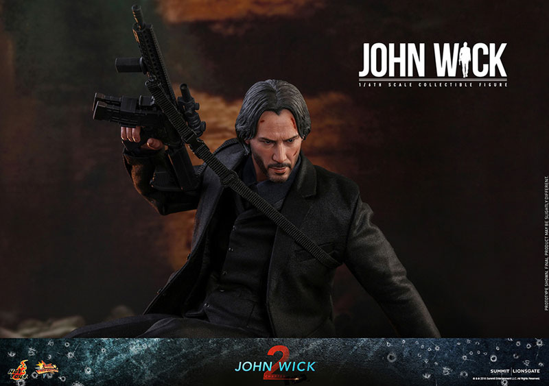 ムービー・マスターピース『ジョン・ウィック JOHN WICK:CHAPTER2』アクションフィギュア-010