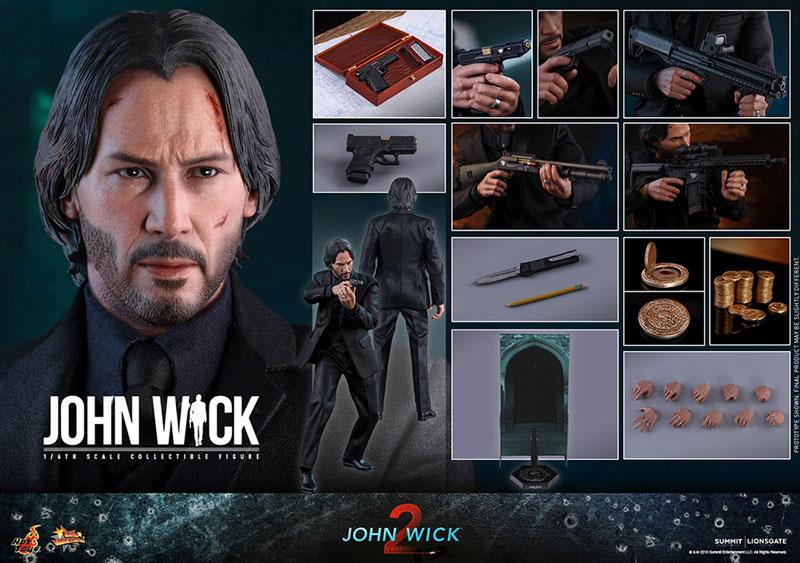 ムービー・マスターピース『ジョン・ウィック JOHN WICK:CHAPTER2』アクションフィギュア-019