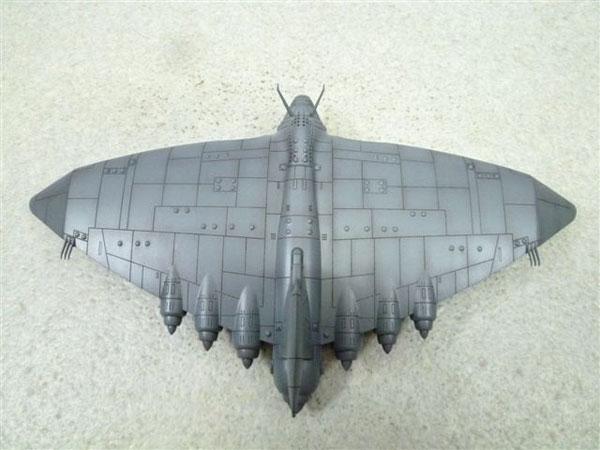 未来少年コナン『No.01 空中要塞ギガント』1/700 プラモデル-008