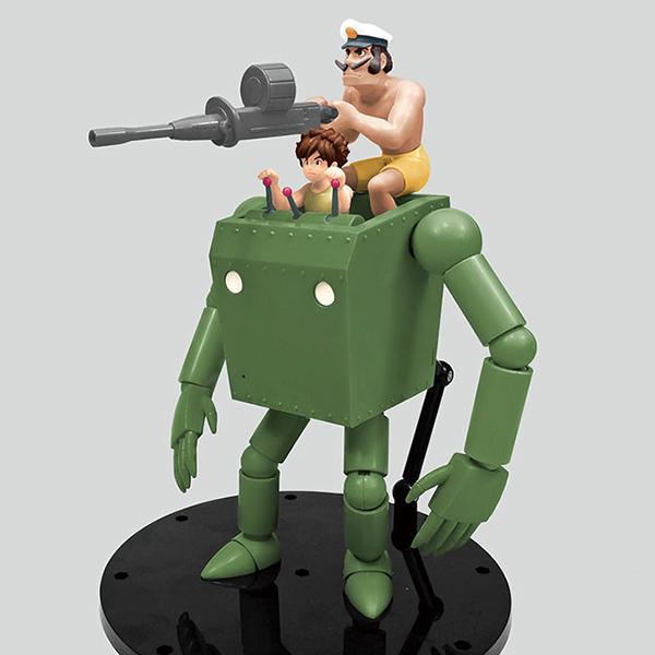 未来少年コナン『No.5 ロボノイド コナン版』1/20 プラモデル