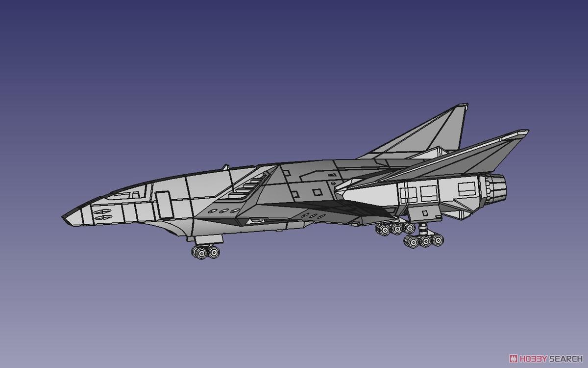 ACKS『MFS-3 3式機龍 しらさぎ付属フルコンプリート』ゴジラ×メカゴジラ プラモデル-014