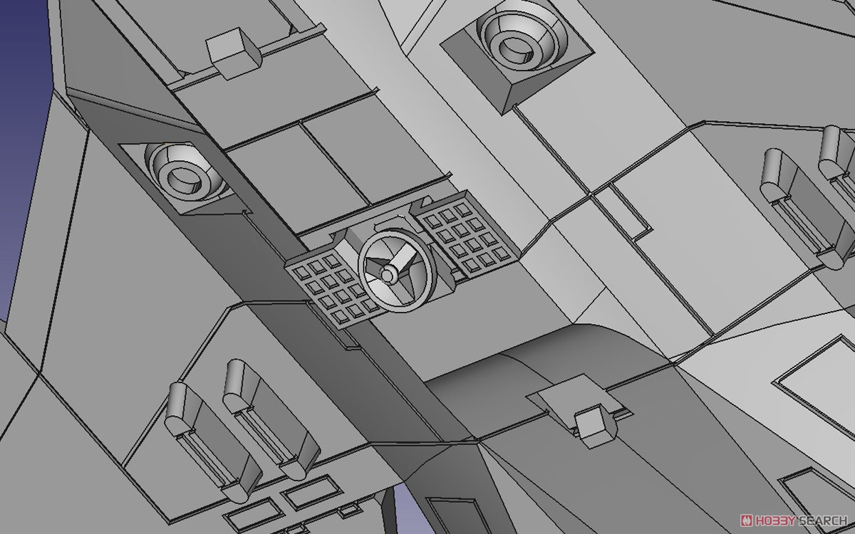 ACKS『MFS-3 3式機龍 しらさぎ付属フルコンプリート』ゴジラ×メカゴジラ プラモデル-015