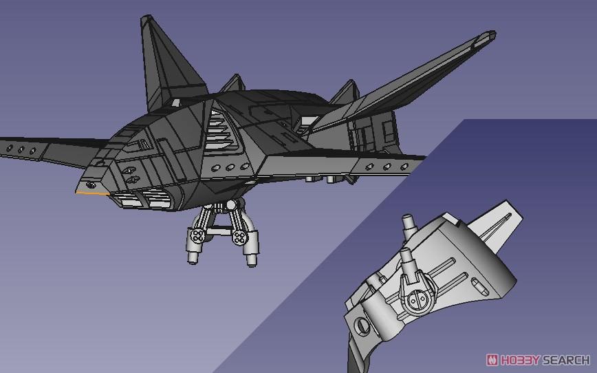 ACKS『MFS-3 3式機龍 しらさぎ付属フルコンプリート』ゴジラ×メカゴジラ プラモデル-016