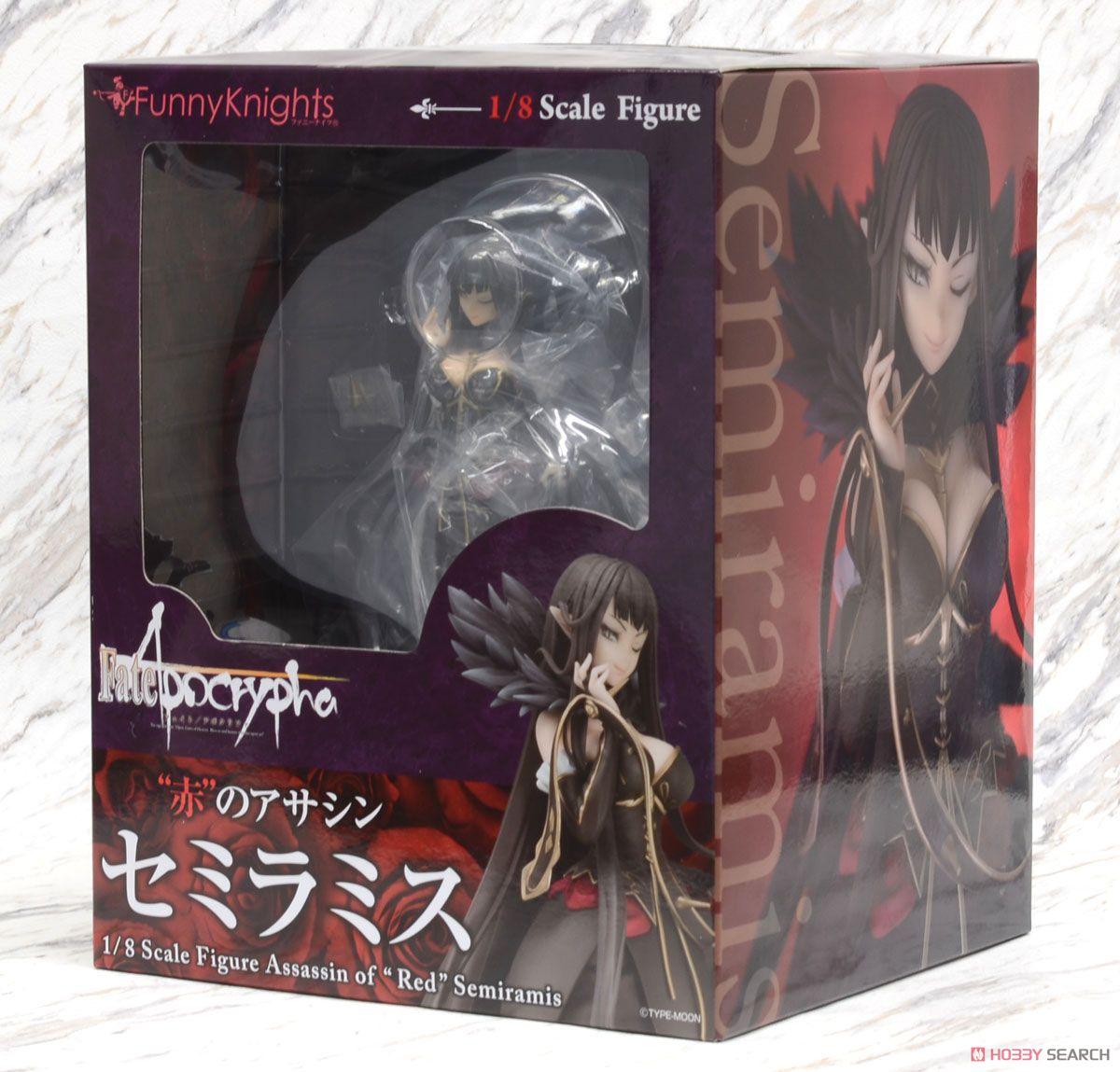 【再販】Fate/Apocrypha『赤のアサシン セミラミス』1/8 完成品フィギュア-013