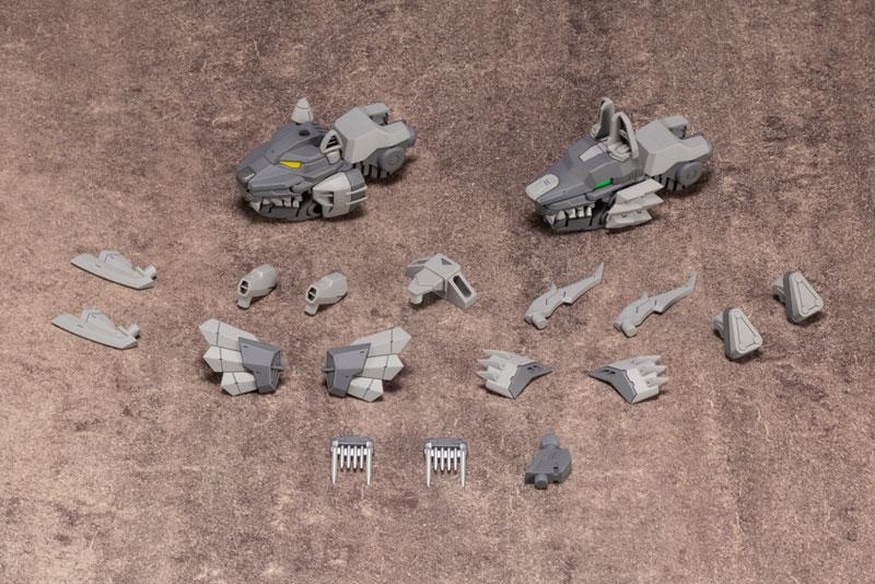 M.S.G メカサプライ16『 カスタマイズヘッドC』プラモデル-008