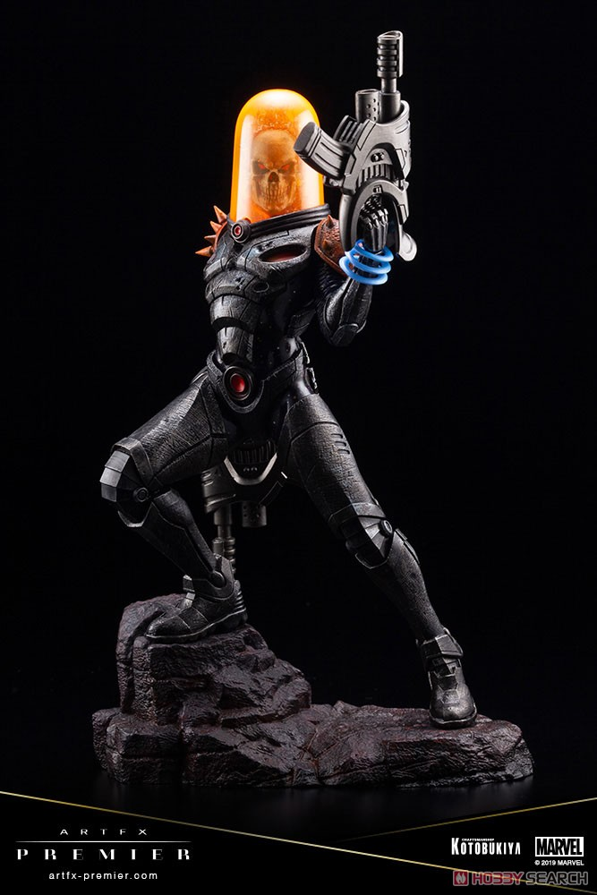 ARTFX PREMIER『コズミック・ゴーストライダー』MARVEL UNIVERSE 1/10 簡易組立キット-011