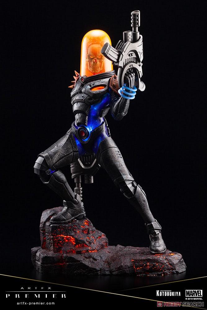 ARTFX PREMIER『コズミック・ゴーストライダー』MARVEL UNIVERSE 1/10 簡易組立キット-012