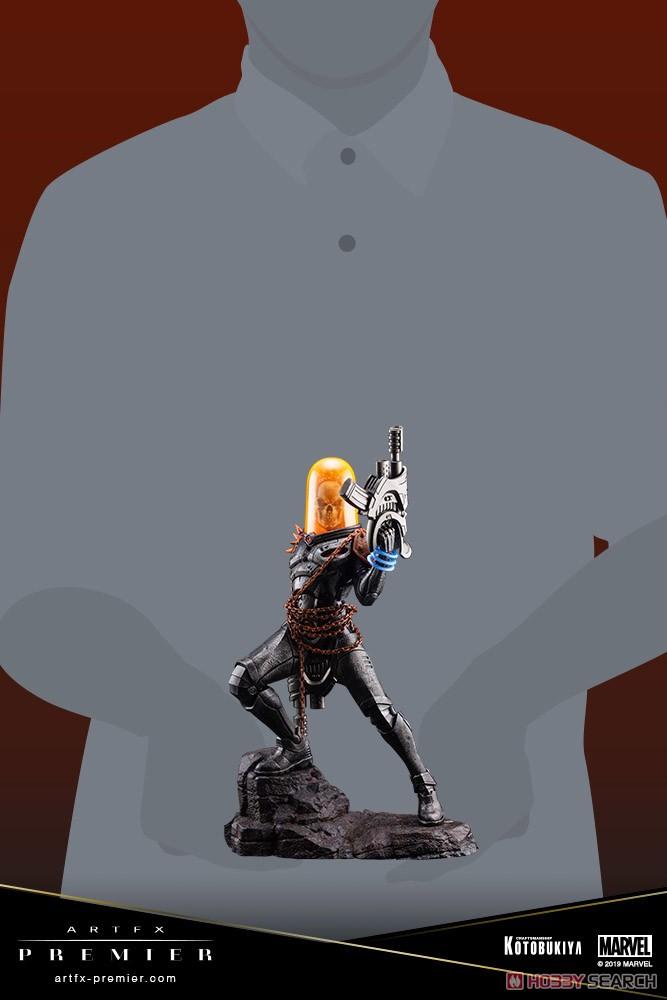ARTFX PREMIER『コズミック・ゴーストライダー』MARVEL UNIVERSE 1/10 簡易組立キット-018