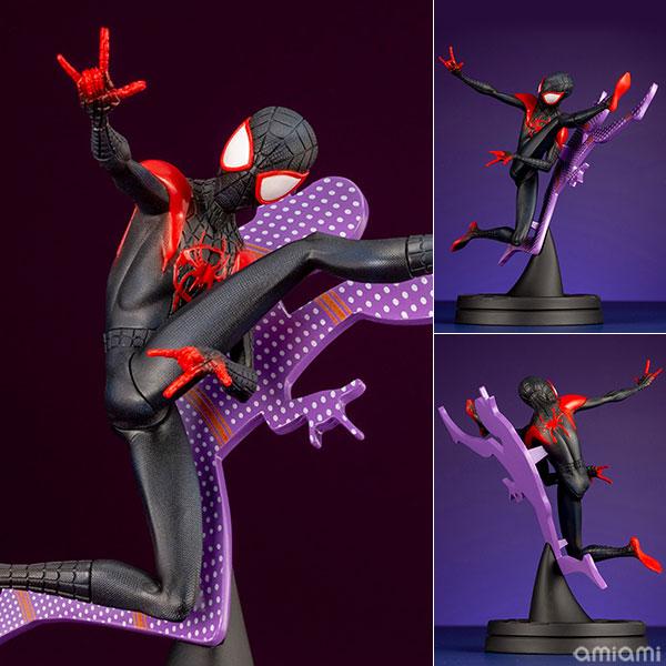 ARTFX+『マイルズ・モラレス ヒーロースーツ INTO THE SPIDER-VERSE』スパイダーマン:スパイダーバース 1/10 簡易組立キット