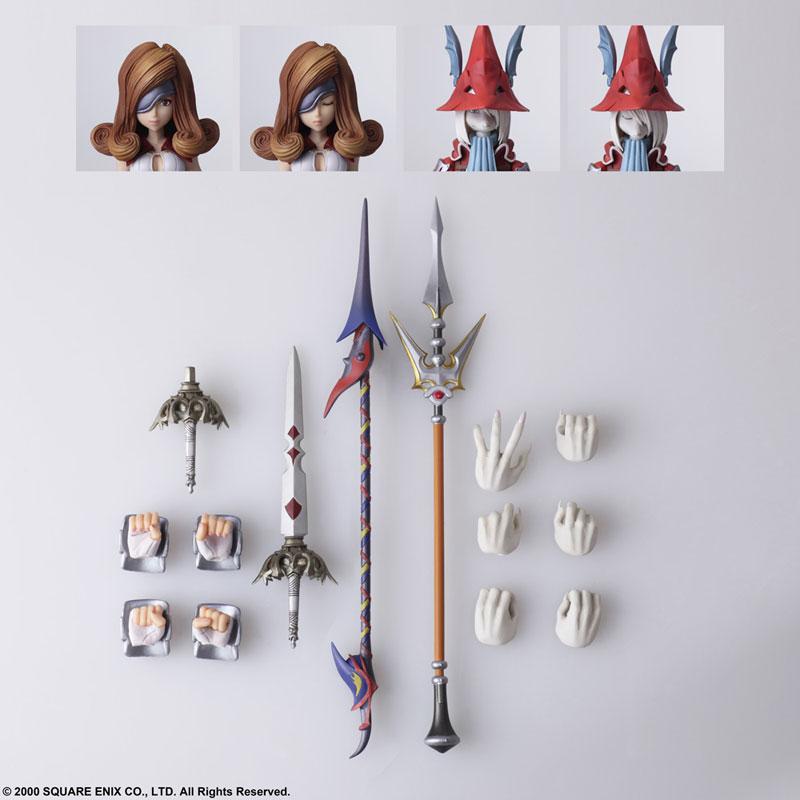 BRING ARTS『フライヤ・クレセント & ベアトリクス』FF9 可動フィギュア-011