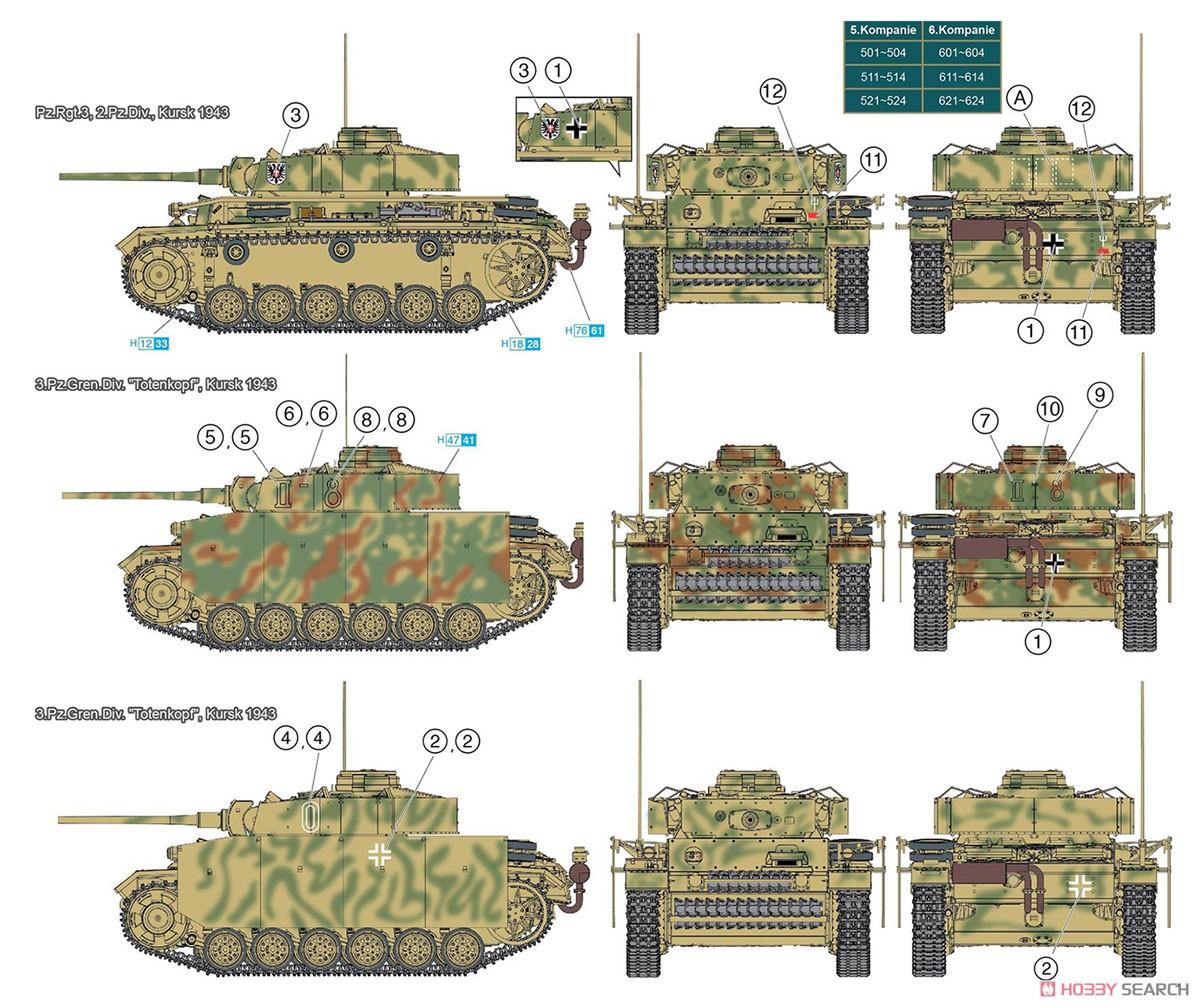 1/35 NEOスマートキット『WW.II ドイツ軍 III号戦車M型 クルスク 1943』プラモデル-007