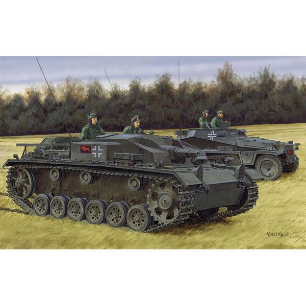1/35 NEOスマートキット『WW.II ドイツ軍 III号突撃砲E型』プラモデル