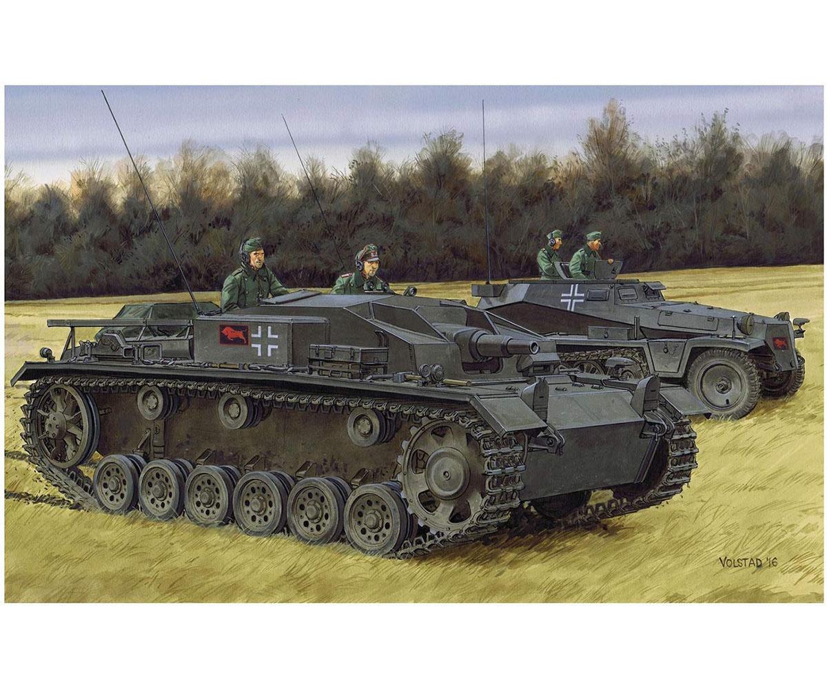 1/35 NEOスマートキット『WW.II ドイツ軍 III号突撃砲E型』プラモデル-001