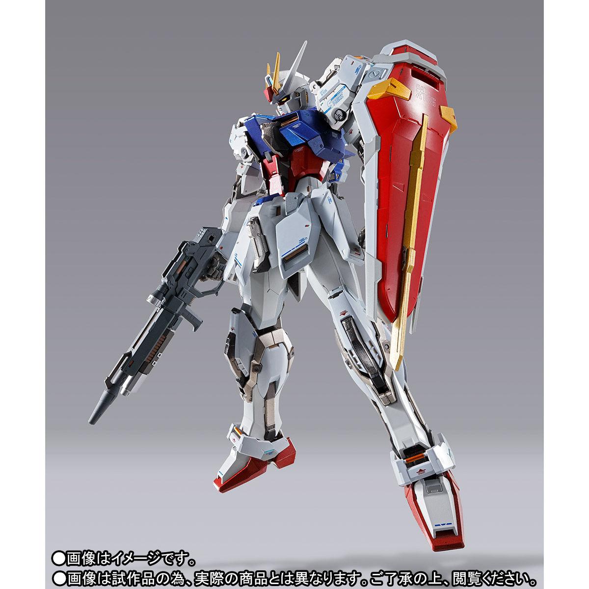【受注販売】METAL BUILD『ストライクガンダム』機動戦士ガンダムSEED 可動フィギュア-002
