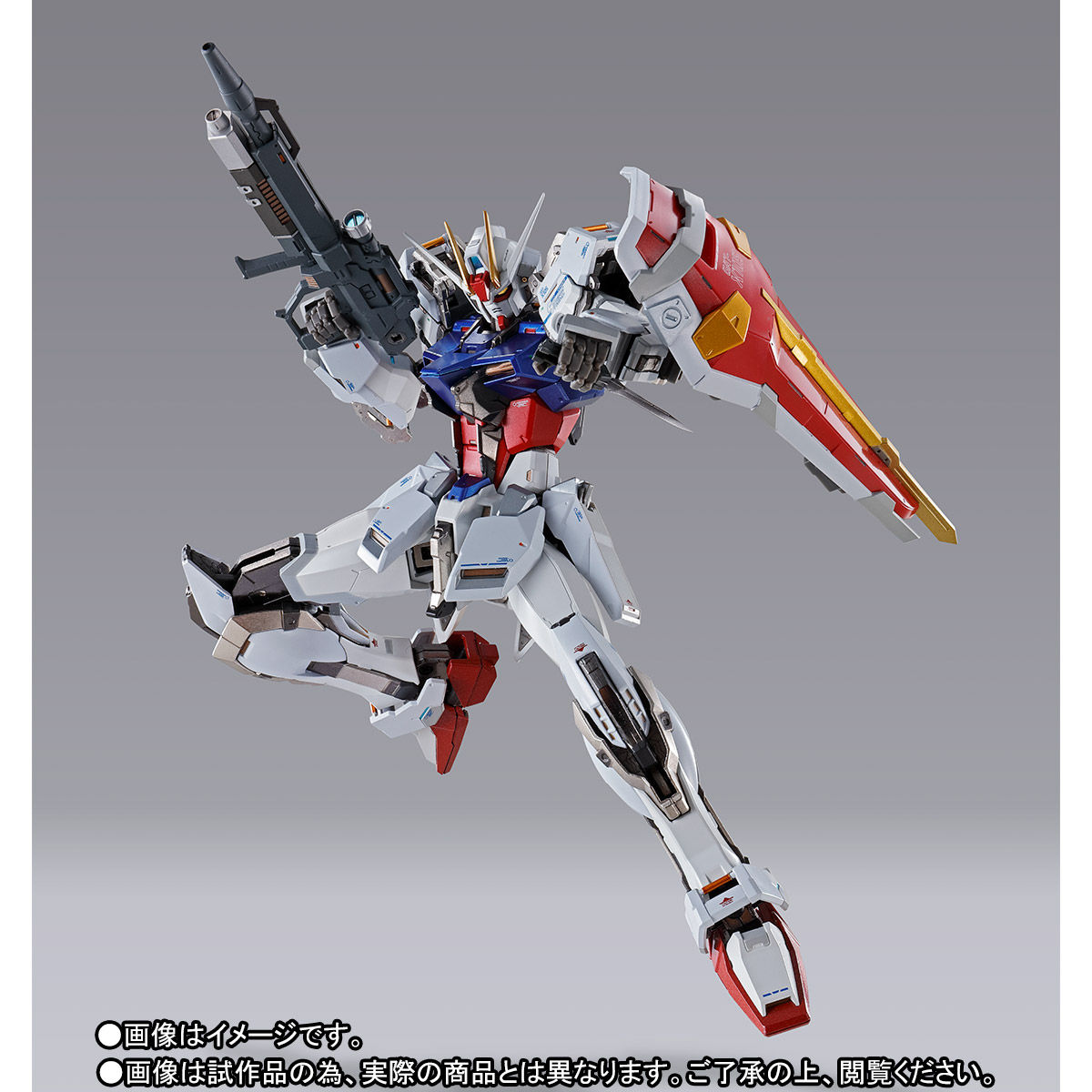 【受注販売】METAL BUILD『ストライクガンダム』機動戦士ガンダムSEED 可動フィギュア-003