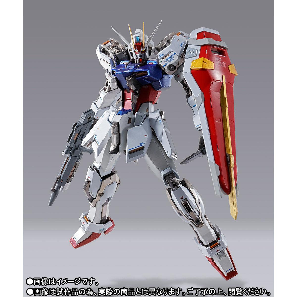 【受注販売】METAL BUILD『ストライクガンダム』機動戦士ガンダムSEED 可動フィギュア-004