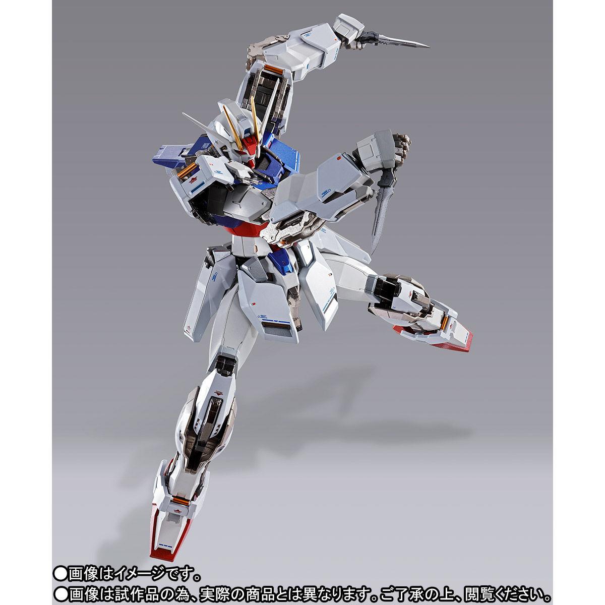 【受注販売】METAL BUILD『ストライクガンダム』機動戦士ガンダムSEED 可動フィギュア-008