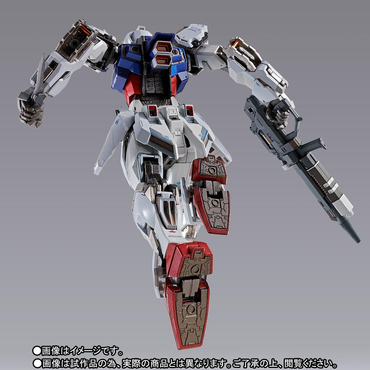 【受注販売】METAL BUILD『ストライクガンダム』機動戦士ガンダムSEED 可動フィギュア-009