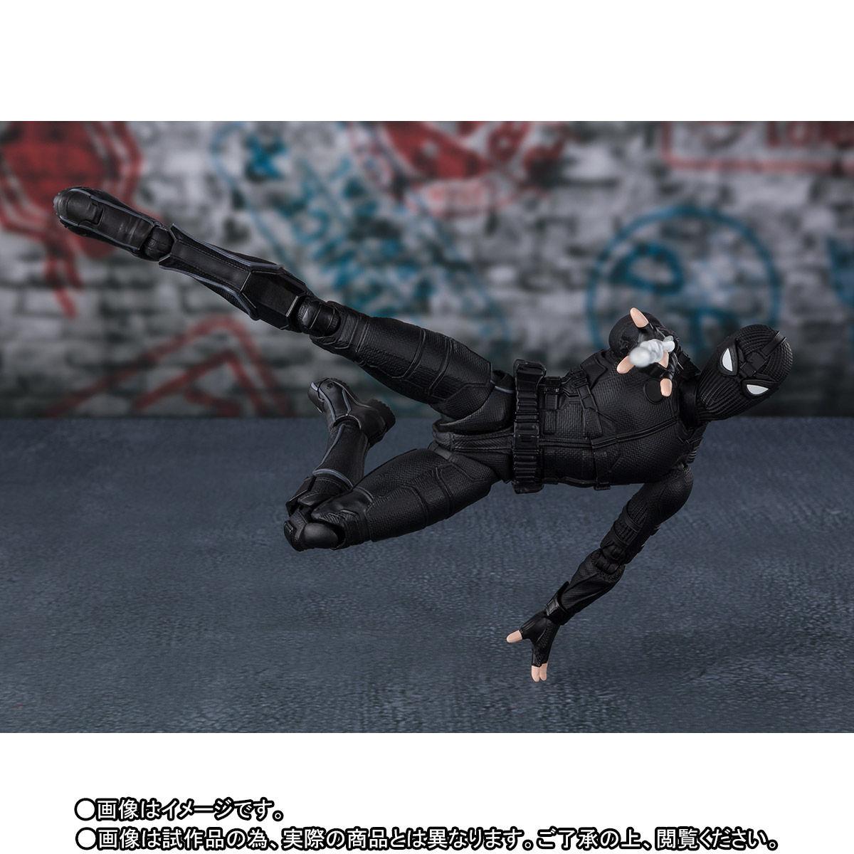S.H.Figuarts『スパイダーマン ステルス・スーツ』スパイダーマン:ファー・フロム・ホーム アクションフィギュア-002