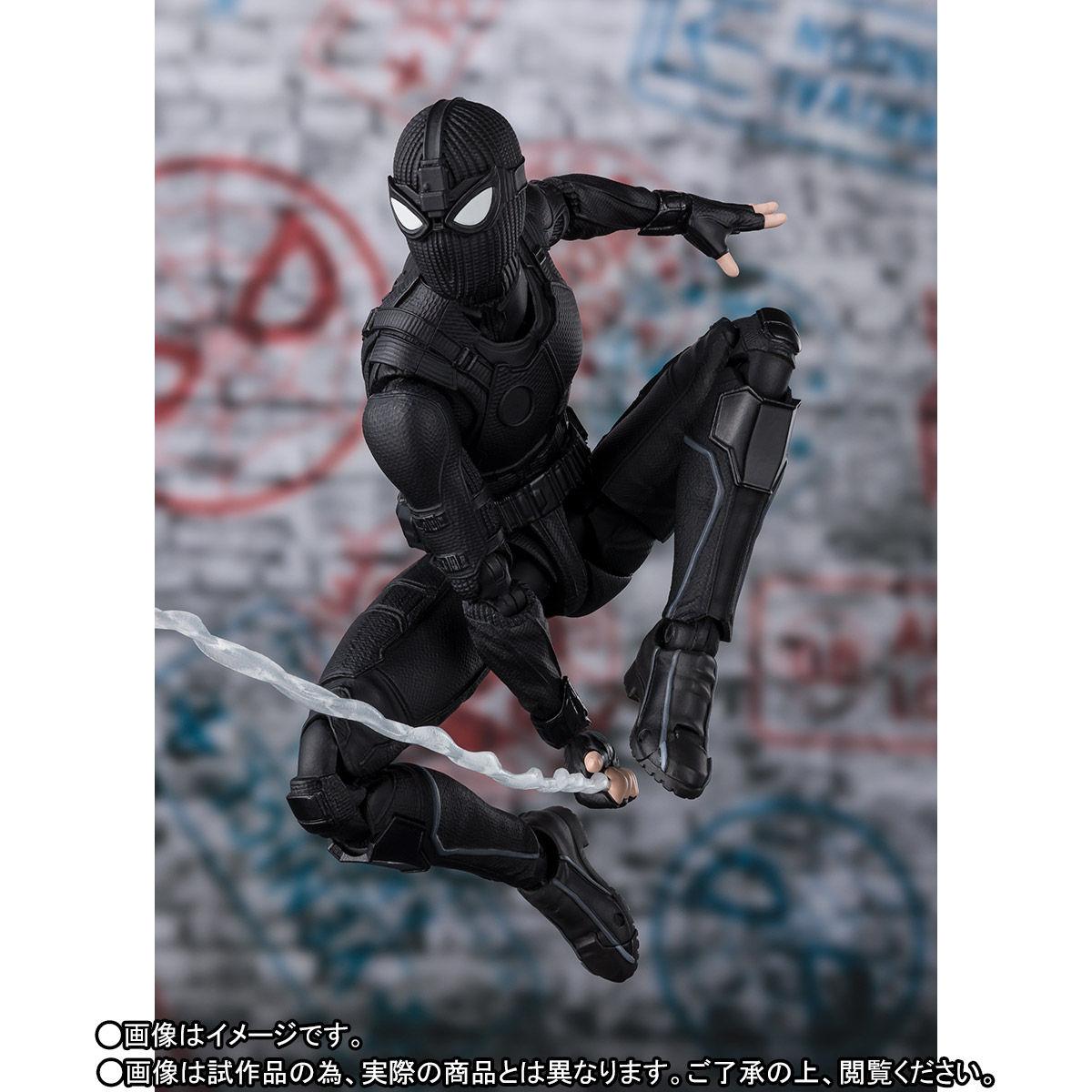 S.H.Figuarts『スパイダーマン ステルス・スーツ』スパイダーマン:ファー・フロム・ホーム アクションフィギュア-003