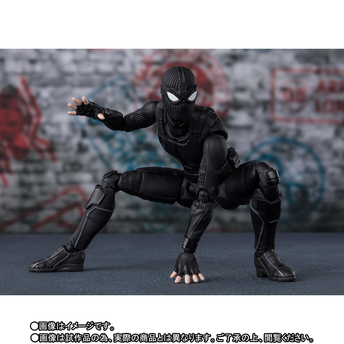 S.H.Figuarts『スパイダーマン ステルス・スーツ』スパイダーマン:ファー・フロム・ホーム アクションフィギュア-004