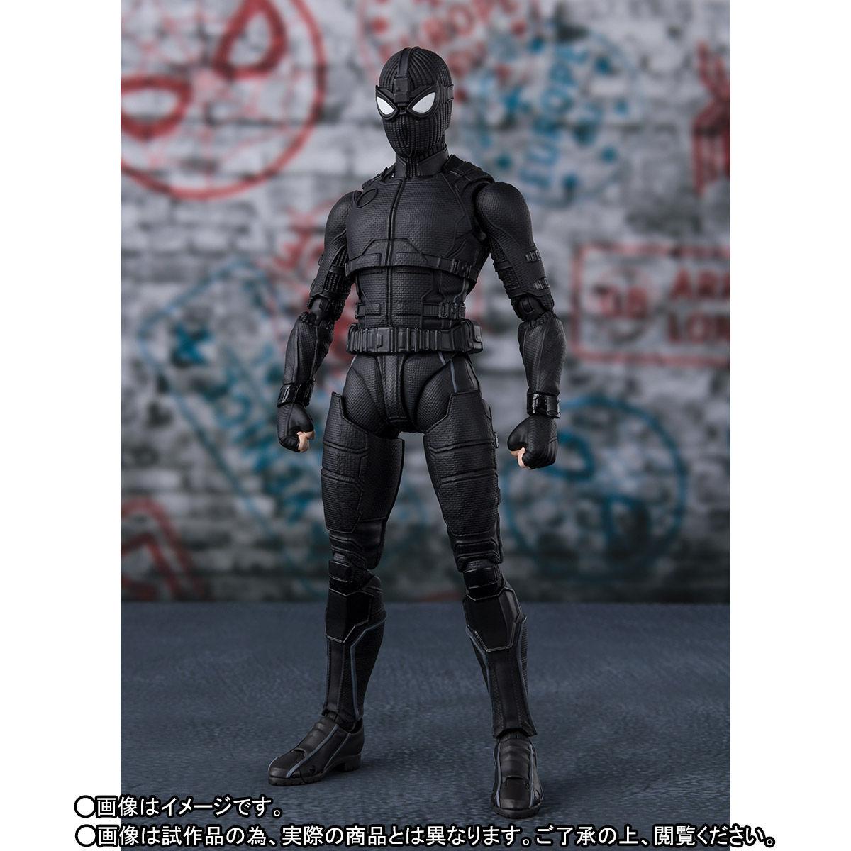 S.H.Figuarts『スパイダーマン ステルス・スーツ』スパイダーマン:ファー・フロム・ホーム アクションフィギュア-005