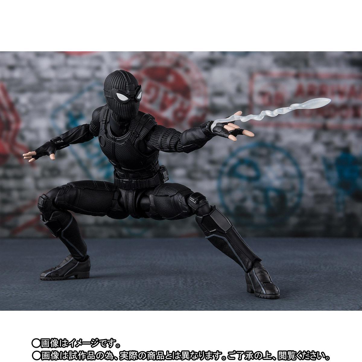 S.H.Figuarts『スパイダーマン ステルス・スーツ』スパイダーマン:ファー・フロム・ホーム アクションフィギュア-009