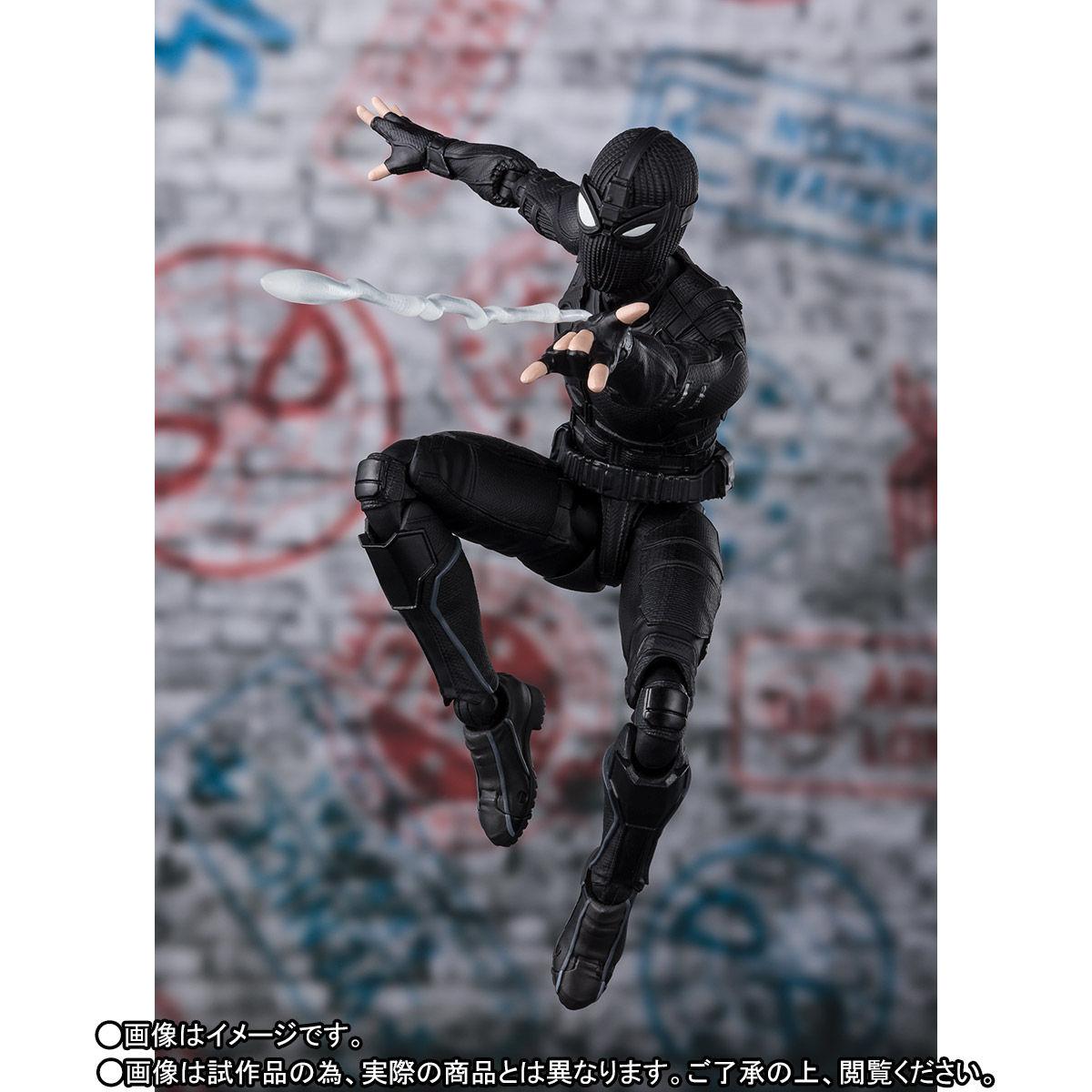 S.H.Figuarts『スパイダーマン ステルス・スーツ』スパイダーマン:ファー・フロム・ホーム アクションフィギュア-010