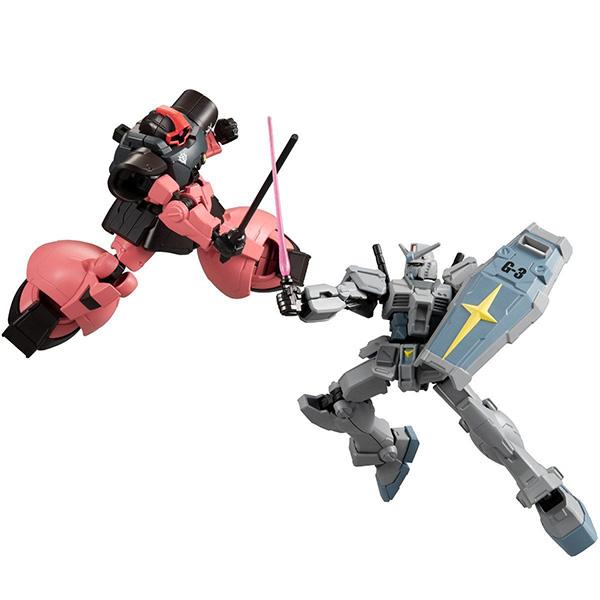 【食玩】Gフレーム『G-3ガンダム&シャア専用リック・ドム』可動フィギュア