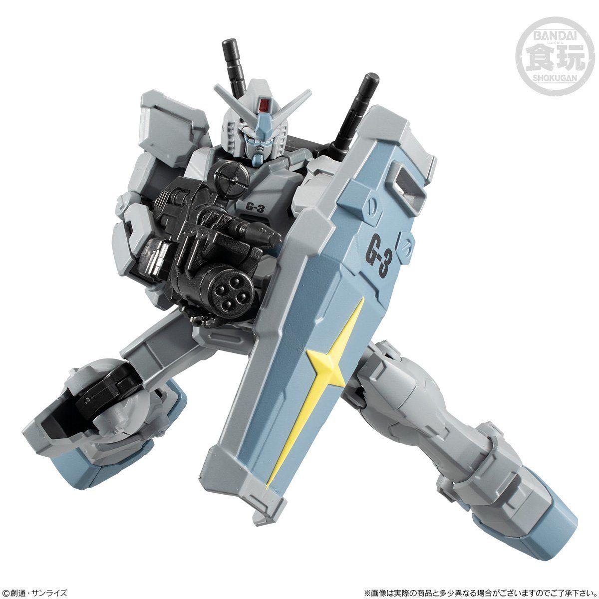【食玩】Gフレーム『G-3ガンダム&シャア専用リック・ドム』可動フィギュア-003