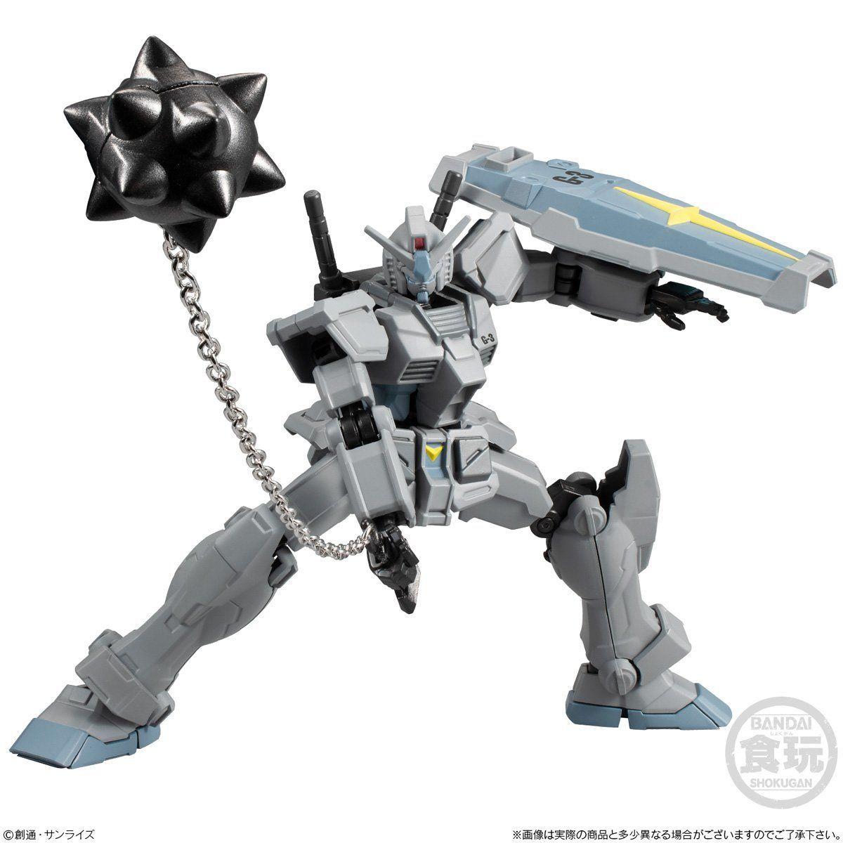 【食玩】Gフレーム『G-3ガンダム&シャア専用リック・ドム』可動フィギュア-006