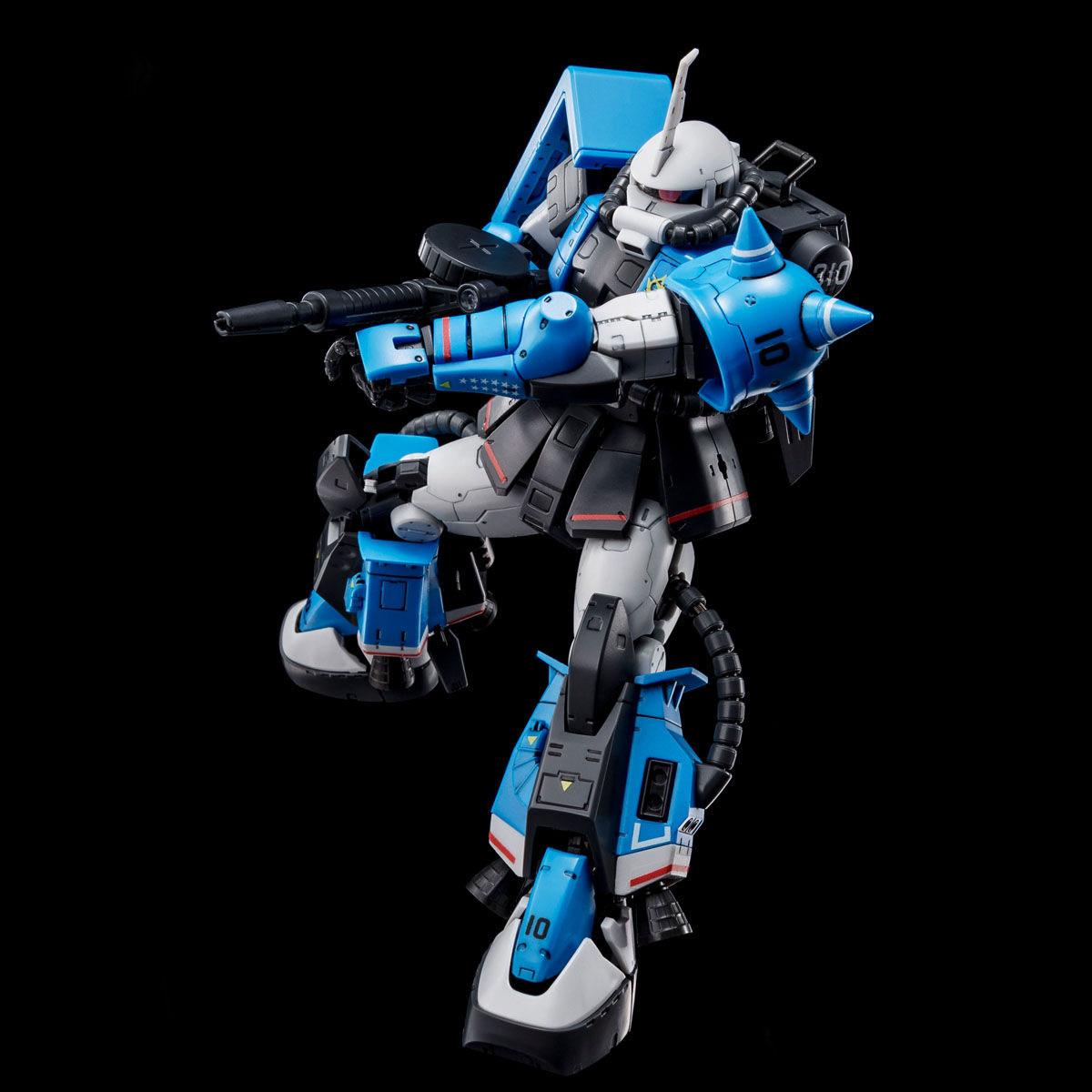 【限定販売】RG 1/144『MS-06R-1A ユーマ・ライトニング専用ザクII』』プラモデル-003