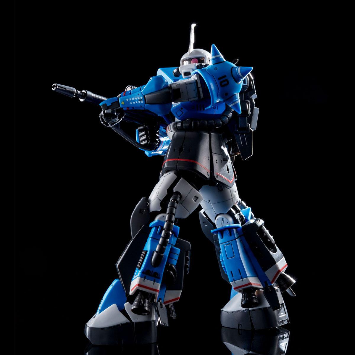 【限定販売】RG 1/144『MS-06R-1A ユーマ・ライトニング専用ザクII』』プラモデル-008