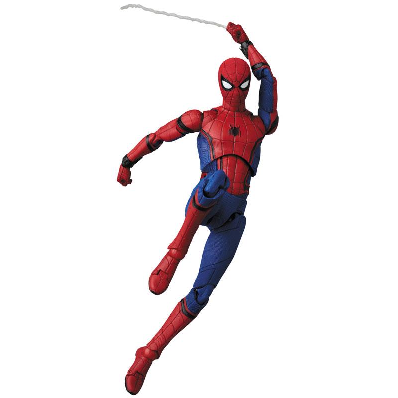 マフェックス No.103 MAFEX『SPIDER-MAN(HOMECOMMING Ver.1.5)』スパイダーマン アクションフィギュア-001