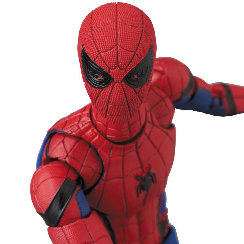 マフェックス No.103 MAFEX『SPIDER-MAN(HOMECOMMING Ver.1.5)』スパイダーマン アクションフィギュア-002