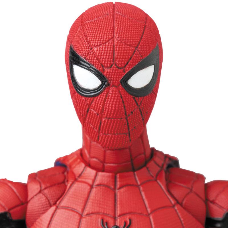 マフェックス No.103 MAFEX『SPIDER-MAN(HOMECOMMING Ver.1.5)』スパイダーマン アクションフィギュア-005