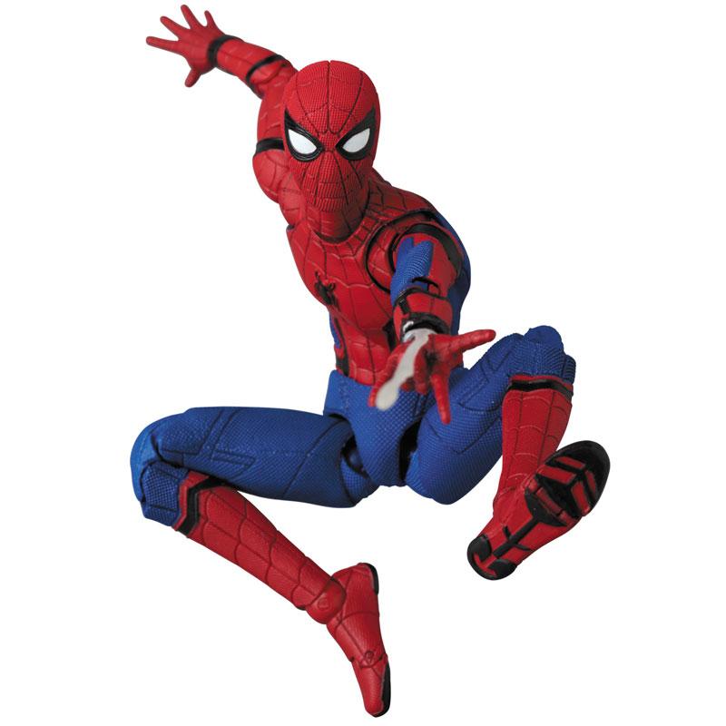 マフェックス No.103 MAFEX『SPIDER-MAN(HOMECOMMING Ver.1.5)』スパイダーマン アクションフィギュア-010